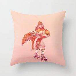 Mermay No.1 Throw Pillow