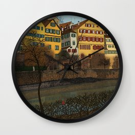 Judith's Walk Wall Clock