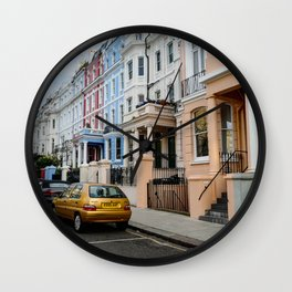 London Colors Wall Clock