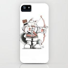 Archer Mainecoon Cat iPhone Case