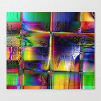 plaid Canvas Prints featuring Plaid by Robin Curtiss