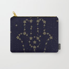 Hamsa Constellation Carry-All Pouch