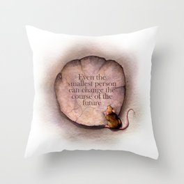Even the Smallest Throw Pillow