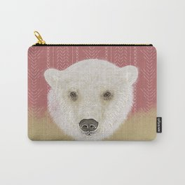 Piper the Polar Bear Carry-All Pouch