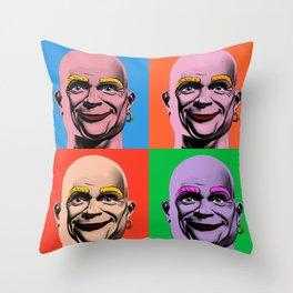 Mr Clean Throw Pillows Society6