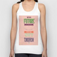 word Tank Tops featuring WORD by Anthony Morell