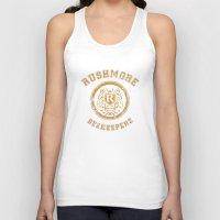 rushmore Tank Tops featuring Rushmore Beekeepers Society by steeeeee