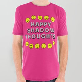 Happy Shadow Thoughts! All Over Graphic Tee