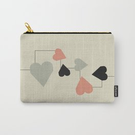 heart map Carry-All Pouch