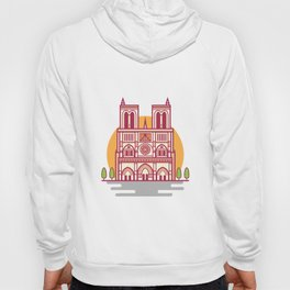 Notre-Dame, Paris Landmark Hoody