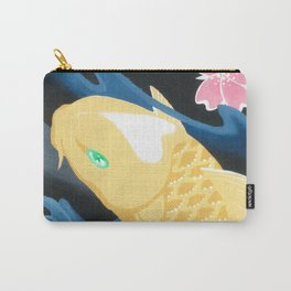 Love Koi Pastel Yellow Carry-All Pouch