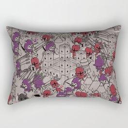 The Great Battle of 1211 Rectangular Pillow