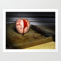 in the flesh Art Prints featuring Rotten Flesh by Andre Portee (Rosewood Film)