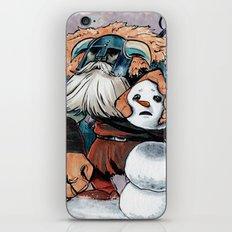 Polar Knight Makes a Friend iPhone Skin