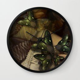 No Angels (Meat is Murder) Wall Clock