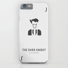Flat Christopher Nolan movie poster: Dark K. iPhone Case