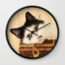 Molly and her Picnic Basket Wall Clock