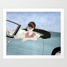 Miss Molly Art Print