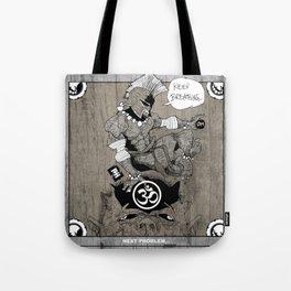 Spartan Buddha Yoga Tote Bag