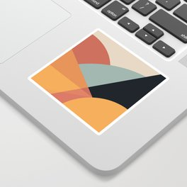 Bright Abstract Sticker