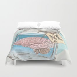 Handle with Care Duvet Cover