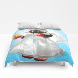 Bridebot Blue Comforters