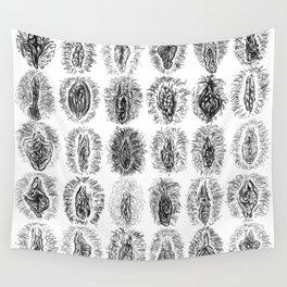 Ink Vulvas Wall Tapestry