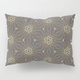 Golden Winterstars 3 Pillow Sham