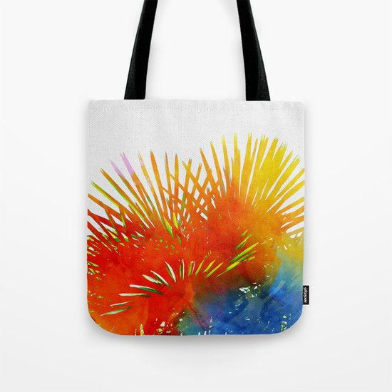 Enchanted Palm Leaves Tote Bag
