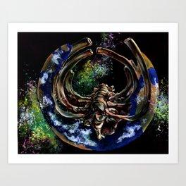 Ecological Depletion  Art Print