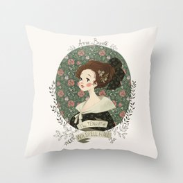 The tenant of Wildfell hall Throw Pillow