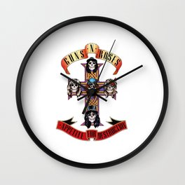 guns n roses Wall Clock