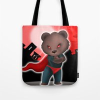 cartoon Tote Bags featuring cartoon  by Rituparna