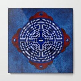 Labyrinth Art Collection Metal Print