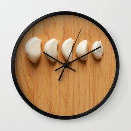 My Soul Runs on Garlic Wall Clock