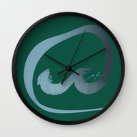 rush Wall Clocks featuring Rush  by Sammy Cee