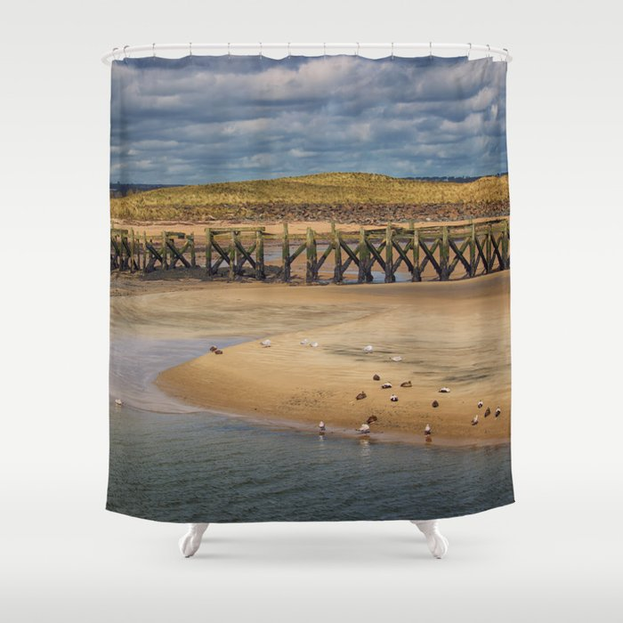 The Meeting Place Shower Curtain