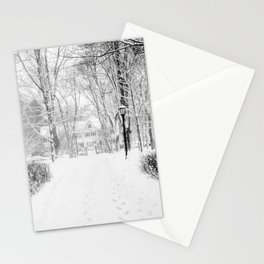 Wandering through Winter Stationery Cards