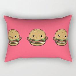 Cute Hamburguer Rectangular Pillow