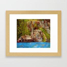 Chimney Rock Framed Art Print