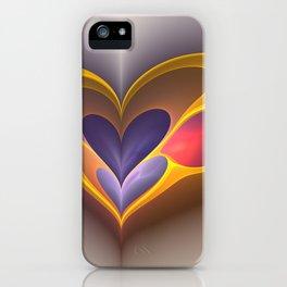 GoldenHeart iPhone Case