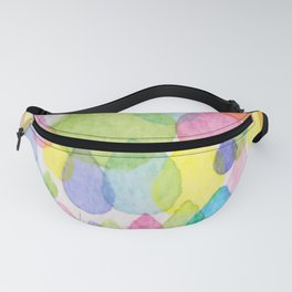 Colourful Raindrops Fanny Pack