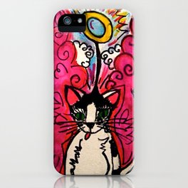 Queenie, The Angel of Beauty iPhone Case