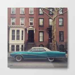 1970 Buick Electra. Clinton Hill. Brooklyn. Metal Print