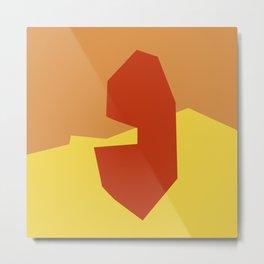 Minimalism Abstract Colors #17 Metal Print
