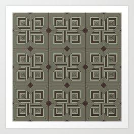Elements in motion Art Print