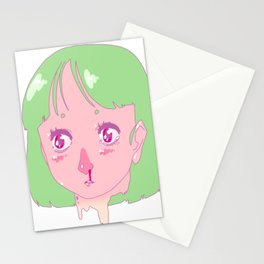 wasnt ready Stationery Cards