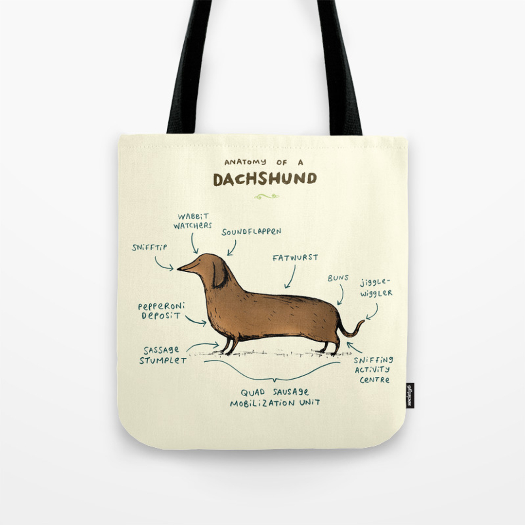 Animal, Dogs, Drawing and Puppy Tote Bags | Society6