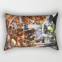 Fallen Apple Rectangular Pillow