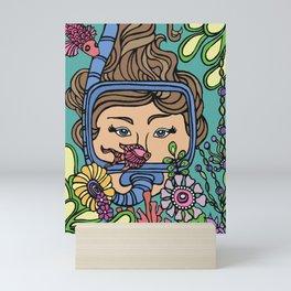 Underwater Coral Wonderland Mini Art Print